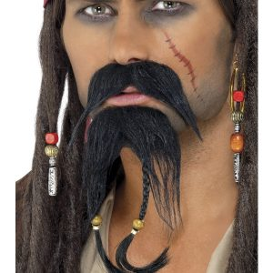 Barbe moustache pirate