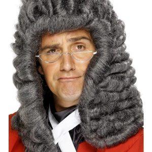 Perruque grise juge