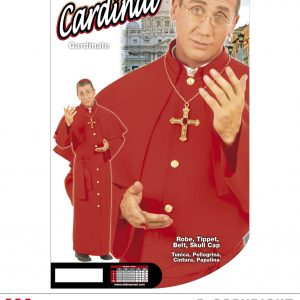 Costume Cardinal rouge