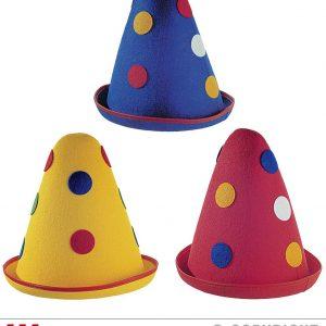 Chapeau de clown à poids