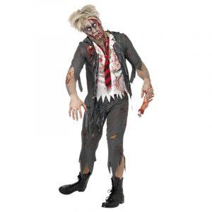 Costume écolier zombie