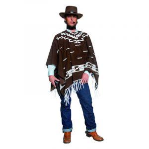 Cowboy avec poncho