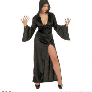 Femme gothique noir
