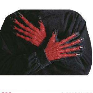 Gants de demon 3D