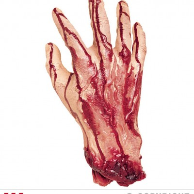 Main coupée mesure humaine