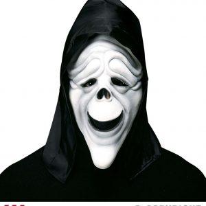 Masque fantome rigolo phosphorescent style 1
