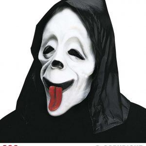 Masque fantome rigolo phosphorescent style 2