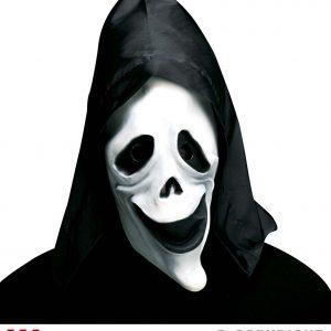 Masque fantome rigolo phosphorescent style 3
