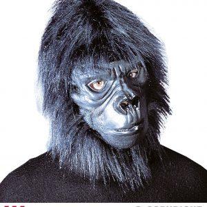 Masque gorille poil peluche