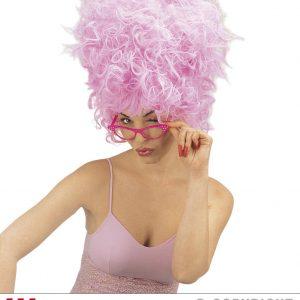 Perruque marquise rose