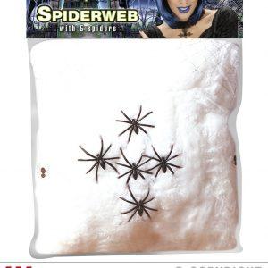 Toile araignee blanche