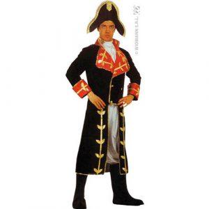 Costume Bonaparte noir et rouge