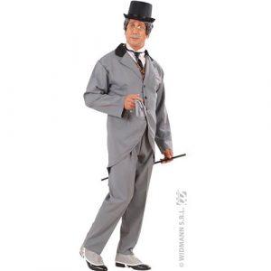 Costume gentilhomme 19e gris