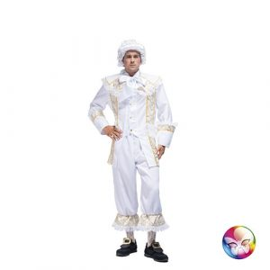 Costume marquis blanc