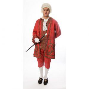Costume marquis de poisson rouge