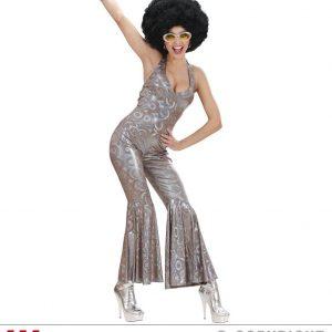 Déguisement danseuse 70's tunique brillante