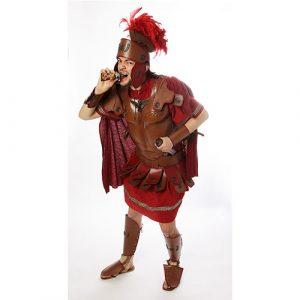 Déguisement armure rouge et marron