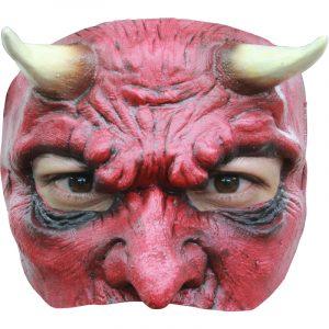 Masque diable demi visage