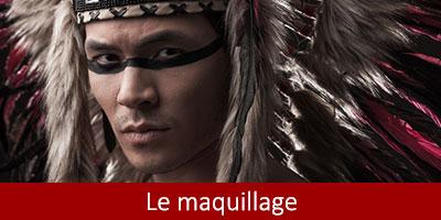 Maquillage Far west catégorie thème Western accessoires