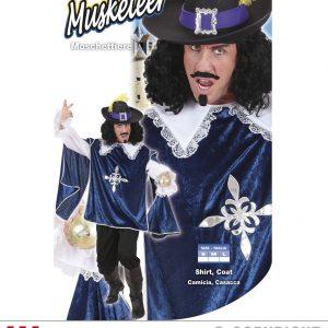 Costume Mousquetaire bleu