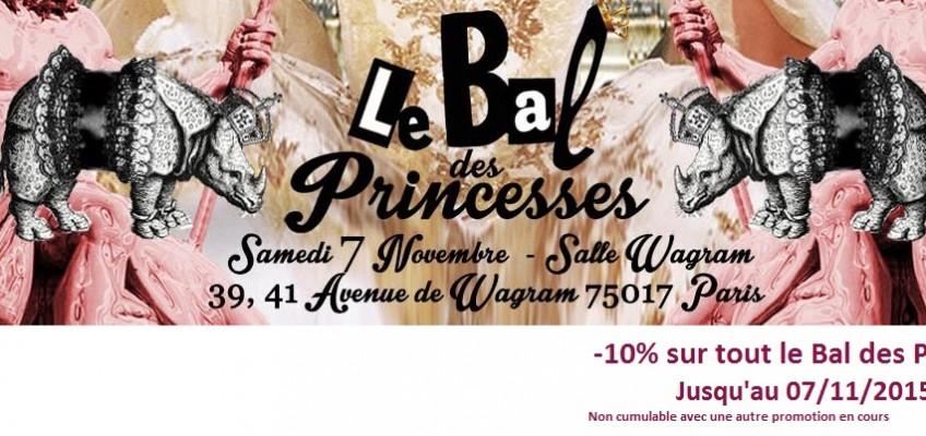 -10% sur tout Le Bal des Princesses !