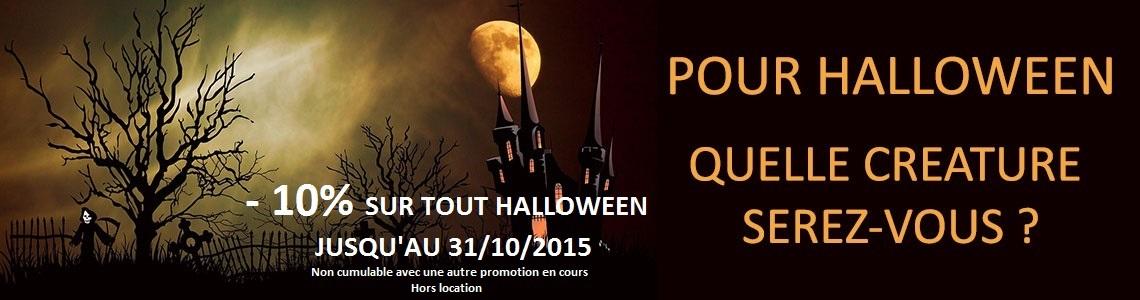 -10% sur tout Halloween !