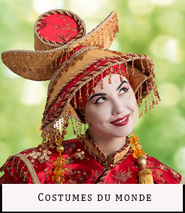 Vente location déguisements Paris Costumes du Monde