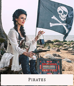Vente location déguisements Paris Pirates