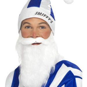 Bonnet Smiffy s bleu et blanc