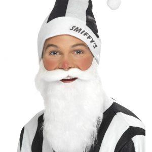 Bonnet Smiffy s noir et blanc