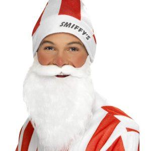 Bonnet Smiffy s rouge et blanc