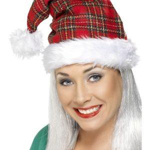 Bonnet de noël écossais