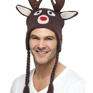 Bonnet de renne avec oreilles