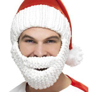 Bonnet et barbe de père noël