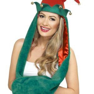 Bonnet et gant lutine Noël
