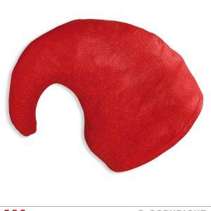 Bonnet lutin rouge recourbé