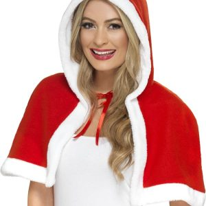 Cape avec capuche Mère Noël
