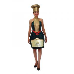 Costume bouteille de champagne