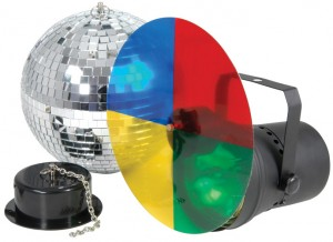 ENSEMBLE DISCO LIGHT