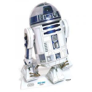 FIGURINE GÉANTE CARTON R2-D2 © STAR WARS 91 X 58 CM