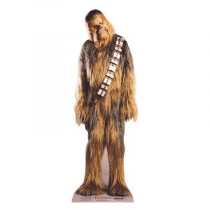 FIGURINE GÉANTE CARTON CHEWBACCA © STAR WARS 195 X 68 CM