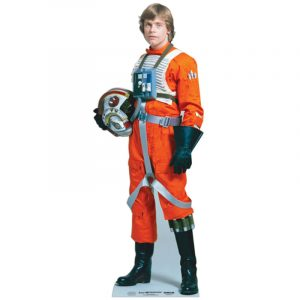 FIGURINE GÉANTE CARTON LUKE SKYWALKER © STAR WARS 184 X 68 CM