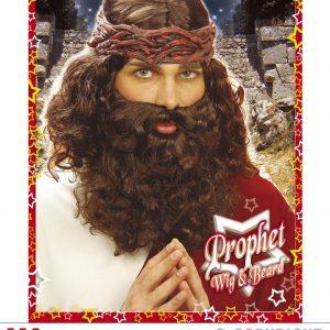 Perruque et barbe Messie