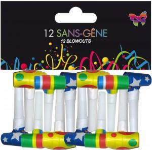 SACHET DE 12 SANS GENE 4 CM - NORMES EN71 2013 Magasin décoration de fête Paris déco Noël Nouvel An