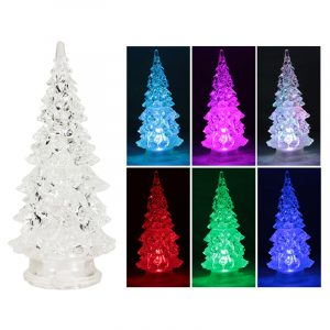 SAPIN LED COULEURS ASSORTIES