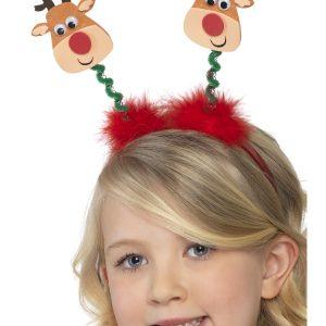 Serre tête petits rennes de Noël