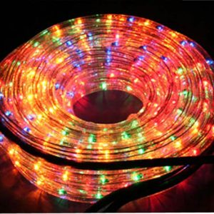 TUBE 192 LEDS MULTICOLORES -8 JEUX DE LUMIERES INTEXT 8M