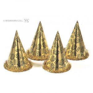 Chapeaux coniques or