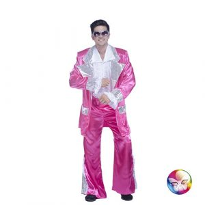 Costume disco king fushia
