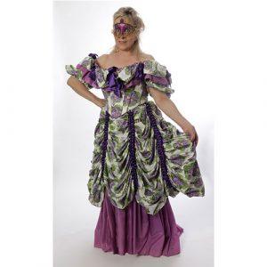 Costume marquise de la violette